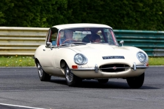 4/5/2014 Jaguar Drivers Club Track Day at Croft. EOS 1 Dx + 400mm. Track parade at lunchtime so out of sequence. From Hairpin area.