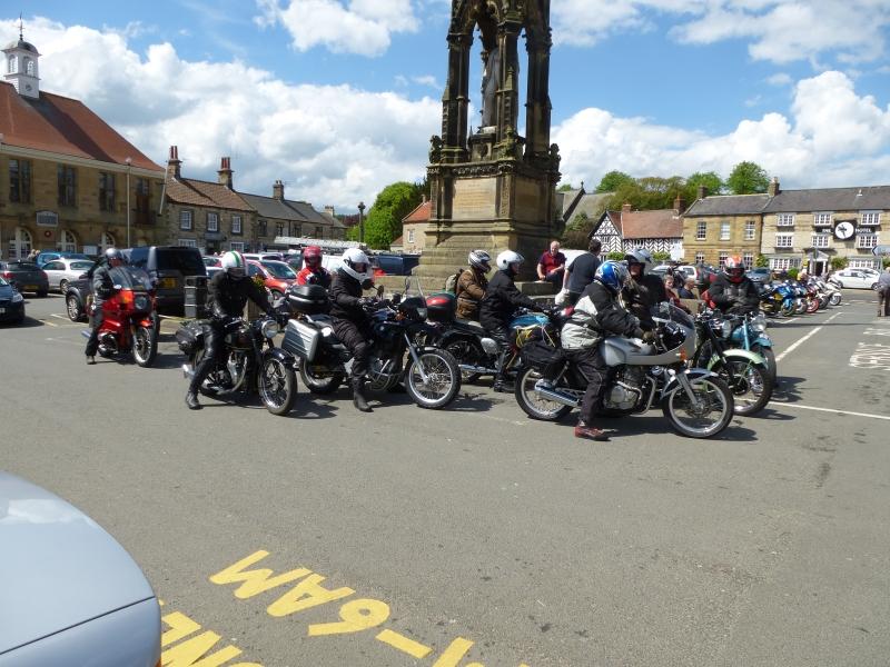 Members meeting up at Helmsley