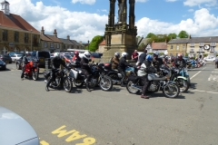 Members meeting up at Helmsley